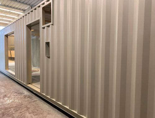 Verniciatura container e cabine